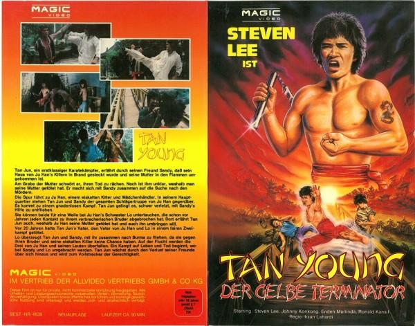 Tan Young - Der gelbe Terminator (Magic Video Hartbox)