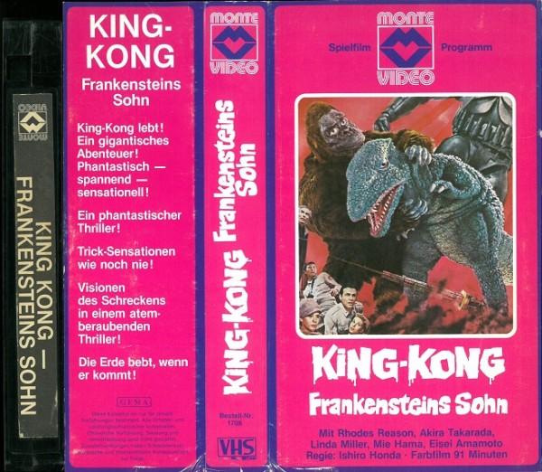 King Kong - Frankensteins Sohn (Monte Glasbox)