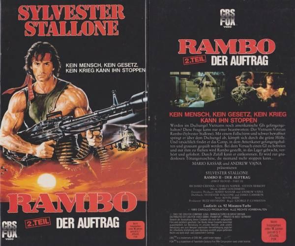 Rambo 2. - Der Auftrag