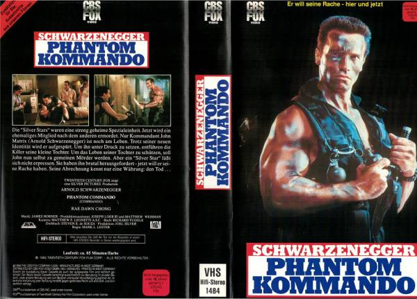 Phantom Kommando - Commando
