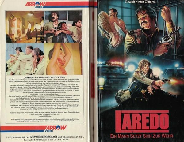Laredo - Ein Mann setzt sich zur Wehr - Hartbox
