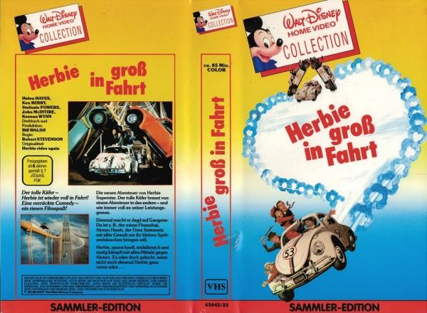 Herbie gross in Fahrt VHS