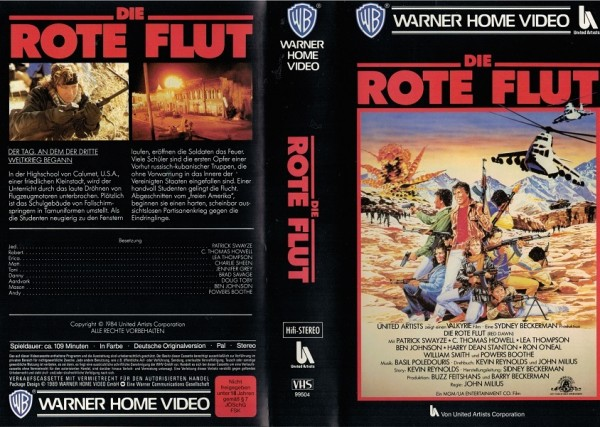 rote Flut, Die - Red Dawn (VK NA)