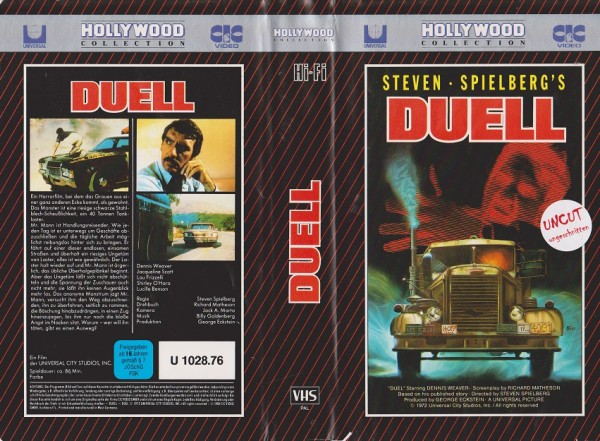 Duell (ungekürzt - alte Synchro - Hollywood Collection)