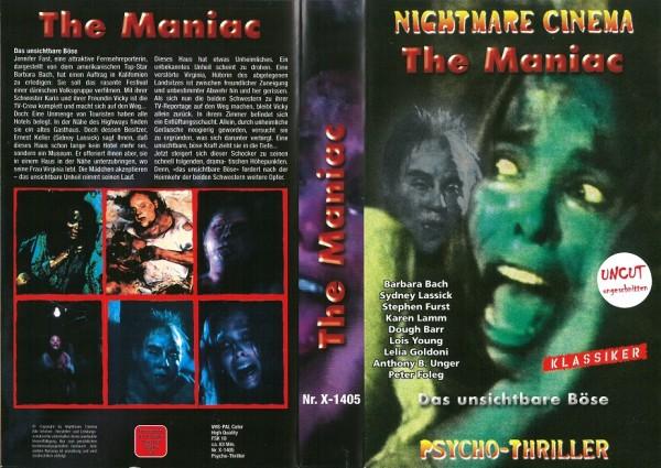 Maniac, The - Unseen - Das unsichtbare Böse (Nightmare Cinema)