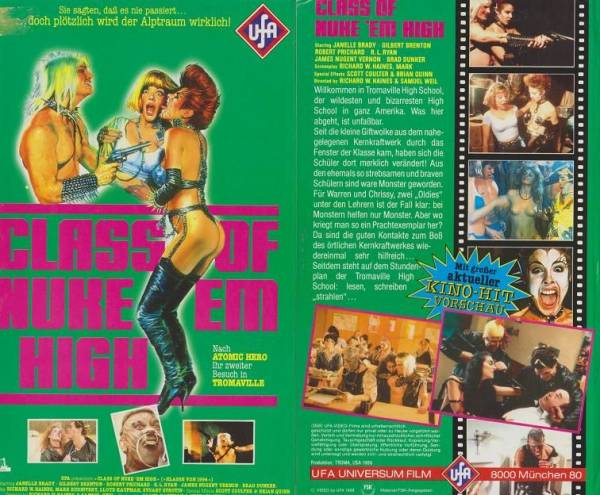 Class of Nuke 'Em High (Hartbox)