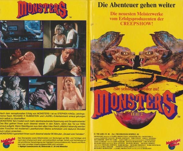 Monsters Teil 2 - Sie schlagen wieder zu (TV Serie) (Hartbox)