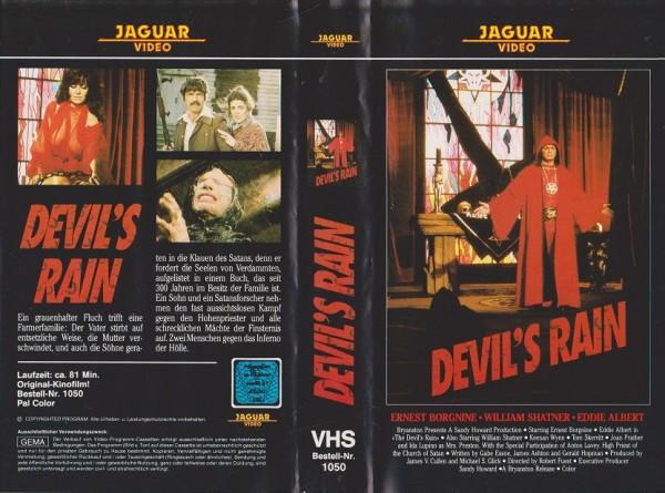 Devil's Rain - Nachts wenn die Leichen schreien - Fluch der Dämonen (Jaguar Video)