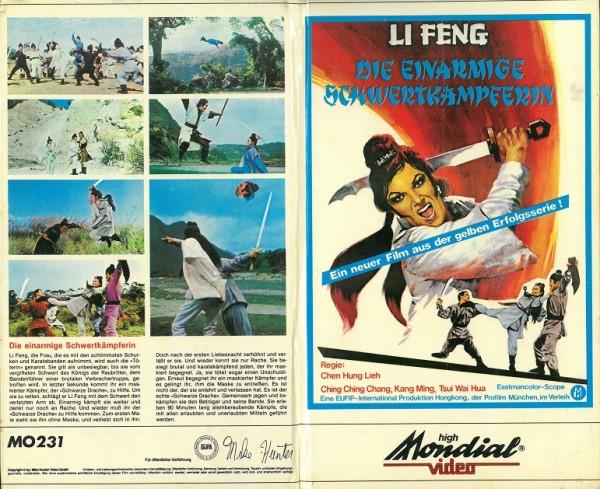 Li Feng - Die einarmige Schwertkämpferin (Hartbox)