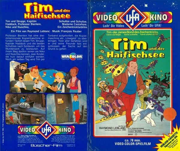 Tim und Struppi und der Haifischsee (Hartbox Sterne)