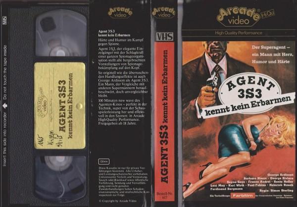 Agent 3S3 kennt kein Erbarmen (Glasboxcover)