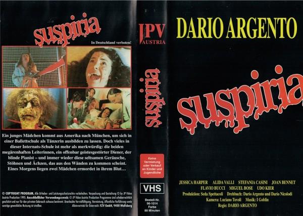 Suspiria - Dario Argento´s (JPV)