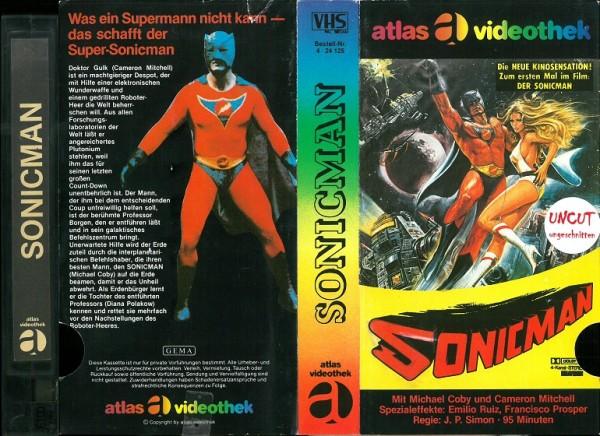 Sonicman - Supersonic Man (Atlas Glasbox)