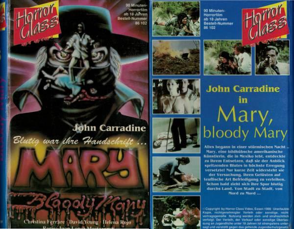 Mary - Bloody Mary - Hartbox