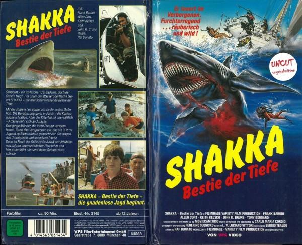 Shakka - Bestie der Tiefe (Hartbox)