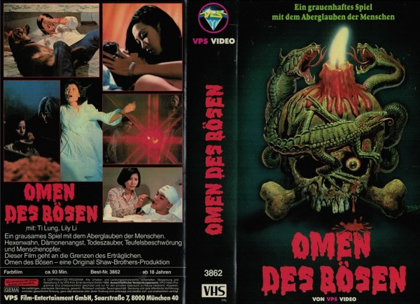 Omen des Bösen - Black Magic (VPS gross)