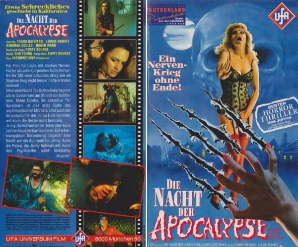 Nacht der Apocalypse, Die