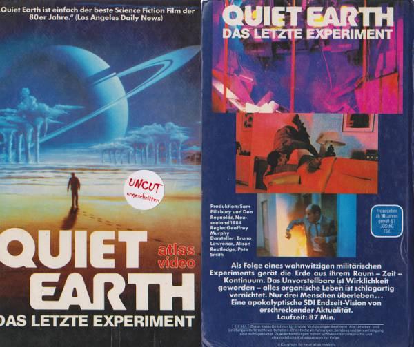 Quiet Earth - Das letzte Experiment