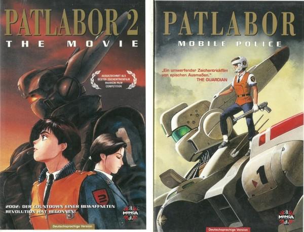 Patlabor Mobile Police Teil 1 und 2
