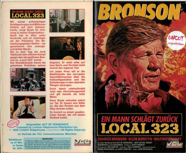 Local 323 - Ein Mann schlägt zurück - Hartbox