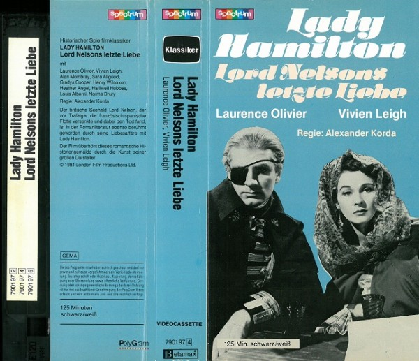 Lady Hamilton - Lords Nelsons letzte Liebe (Glasbox)