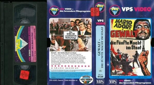 Gewalt - Die fünfte Macht im Staat (VPS Glasbox)