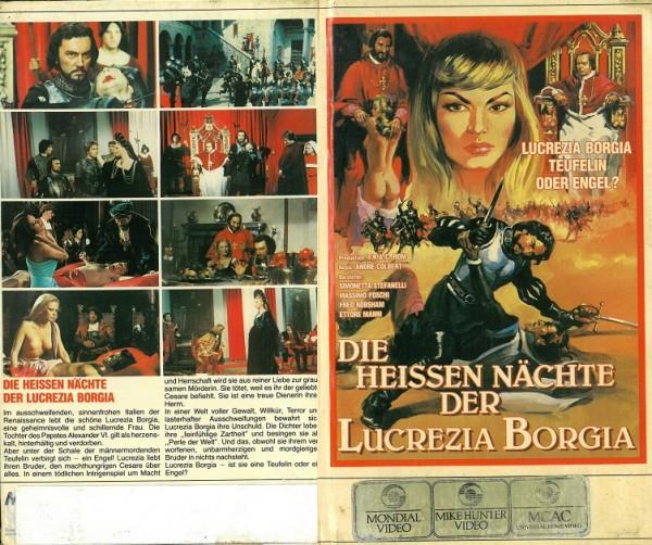 heissen Nächte der Lucrezia Borgia, Die (Hartbox)