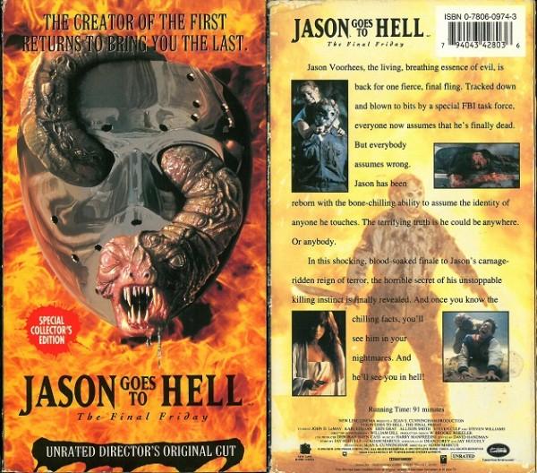 Jason 9 - Jason goes to hell - Freitag der 13. Teil 9 (New Line Video US Import)