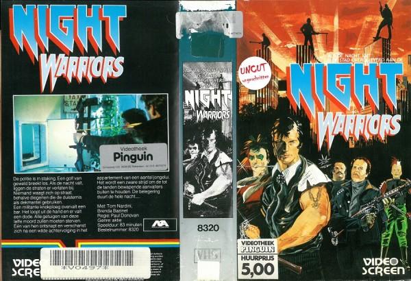Night Warriors - New York 1991 - Nacht ohne Gesetz (Video Screen NL Import)