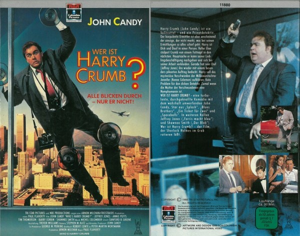 Wer ist Harry Crumb (Hartbox)