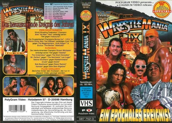 Wrestlemania IX - Ein epochales Ereignis (WWF Wrestling)