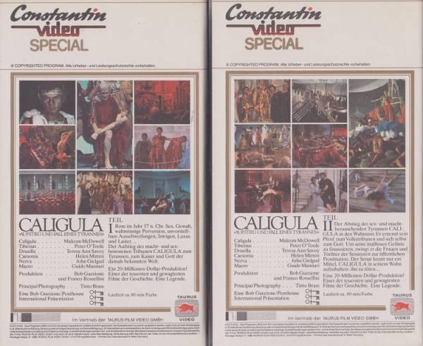 Caligula Teil 1 / 2 - Doppelpack