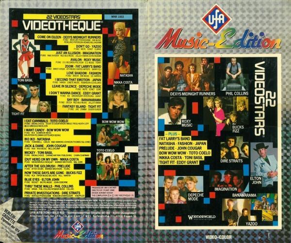 22 Videostars - UFA Music-Edition (Hartbox)