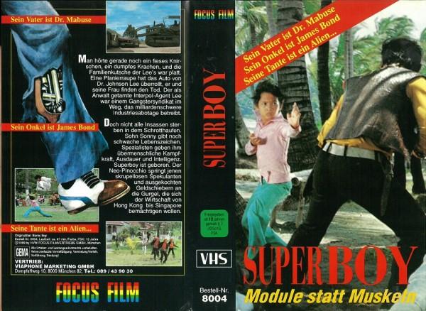 Superboy - Module statt Muskeln