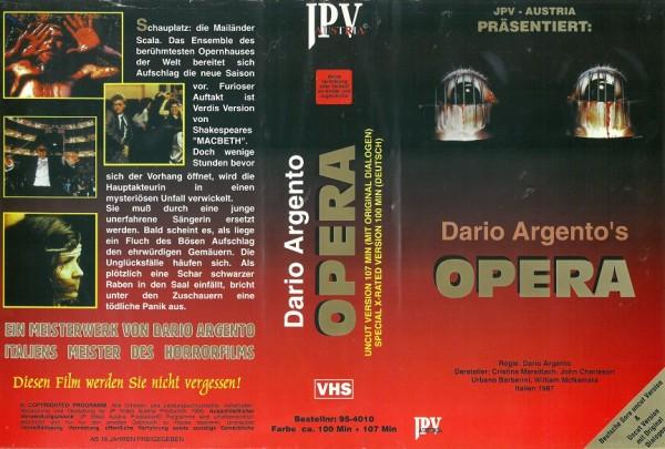 Opera - Terror in der Oper (Doppel-VHS Box)