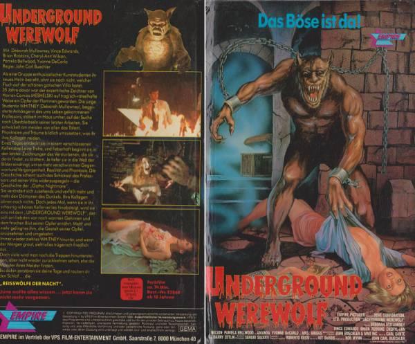 Underground Werewolf