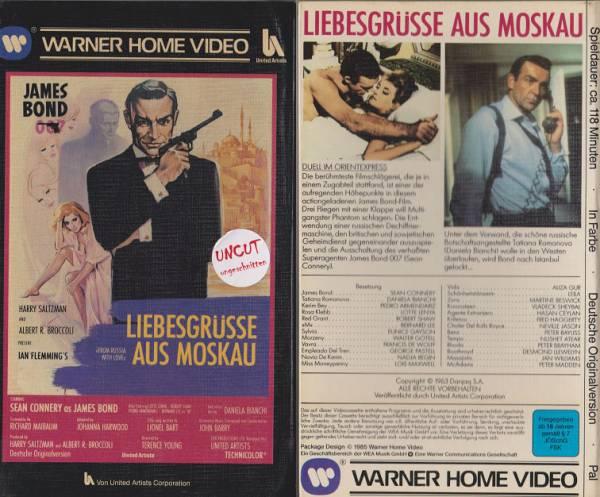 James Bond 007 - Liebesgrüße aus Moskau - Hartbox