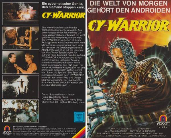 Cy-Warrior / Cy Warrior (Hartbox)
