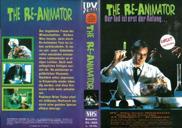 Re-Animator - Der Tod ist erst der Anfang (JPV)