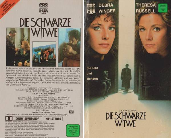 Die Schwarze Witwe Film