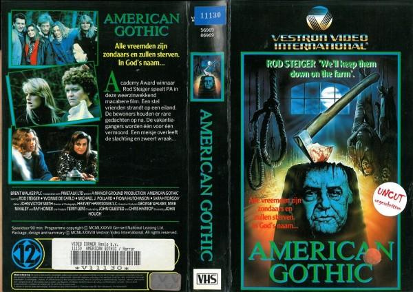 American Gothic - Dark Paradise (Vestron Video NL Import)