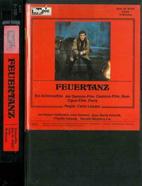 Feuertanz - Solo für zwei Maschinengewehre (Toppic Viertelcover)