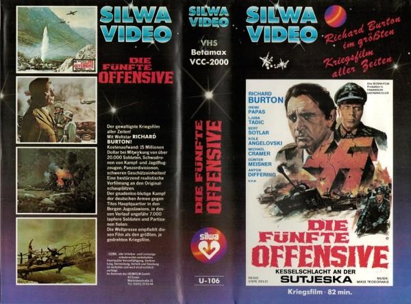 fünfte Offensive, Die - Kesselschlacht an der Sutjeska (Silwa blau)