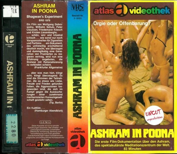 Ashram in Poona (Atlas Klapp-Glasbox)