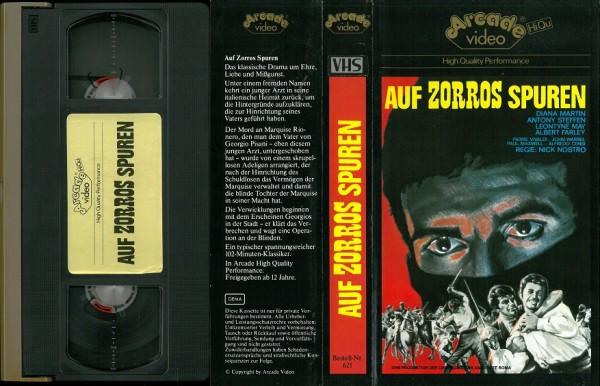 Auf Zorros Spuren (Glasboxcover)