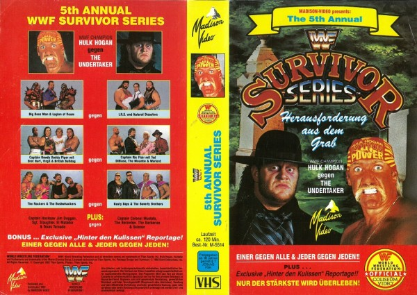 Survivor Series 5th annual (WWF Wrestling)
