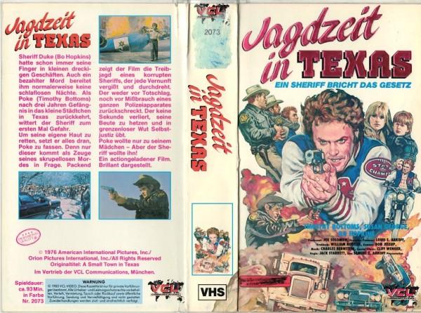 Jagdzeit in Texas - Hartbox