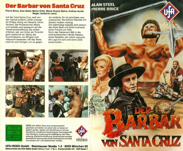 Barbar von Santa Cruz, Der - Zorro gegen Maciste (Hartbox VK)