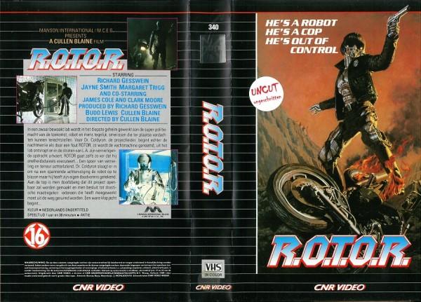 R.O.T.O.R. - Die Killer-Maschine - Rotor (CNR Video NL Import)