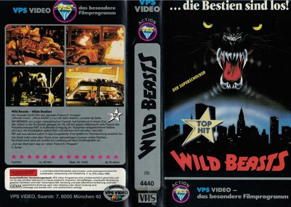Wild Beasts - Die Bestien sind los